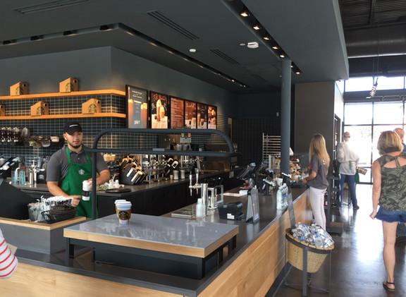 Starbucks Order Table