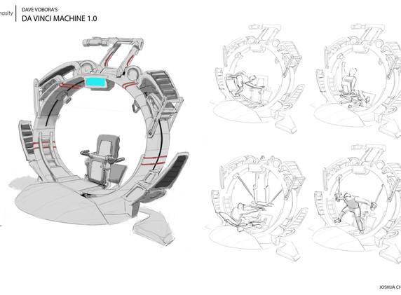Futurists Exercise Machine