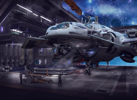 Hightower Polarum: Landing