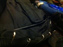 Zipper anchor