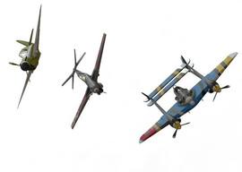 Customized WW2 Airplanes