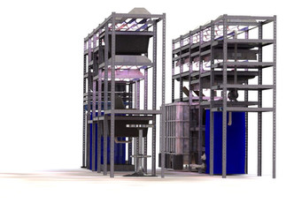 Mobile Aquaponics Center