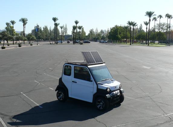 Solar panel Modification