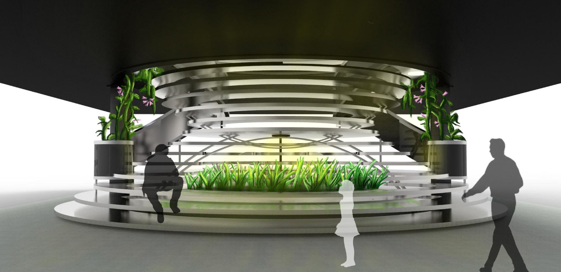 Memorial Union Staircase Proposal 4