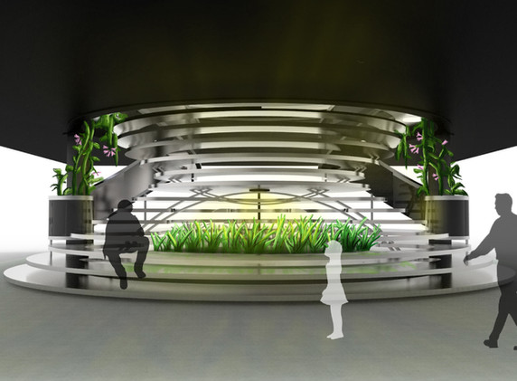 Memorial Union Staircase Proposal 4