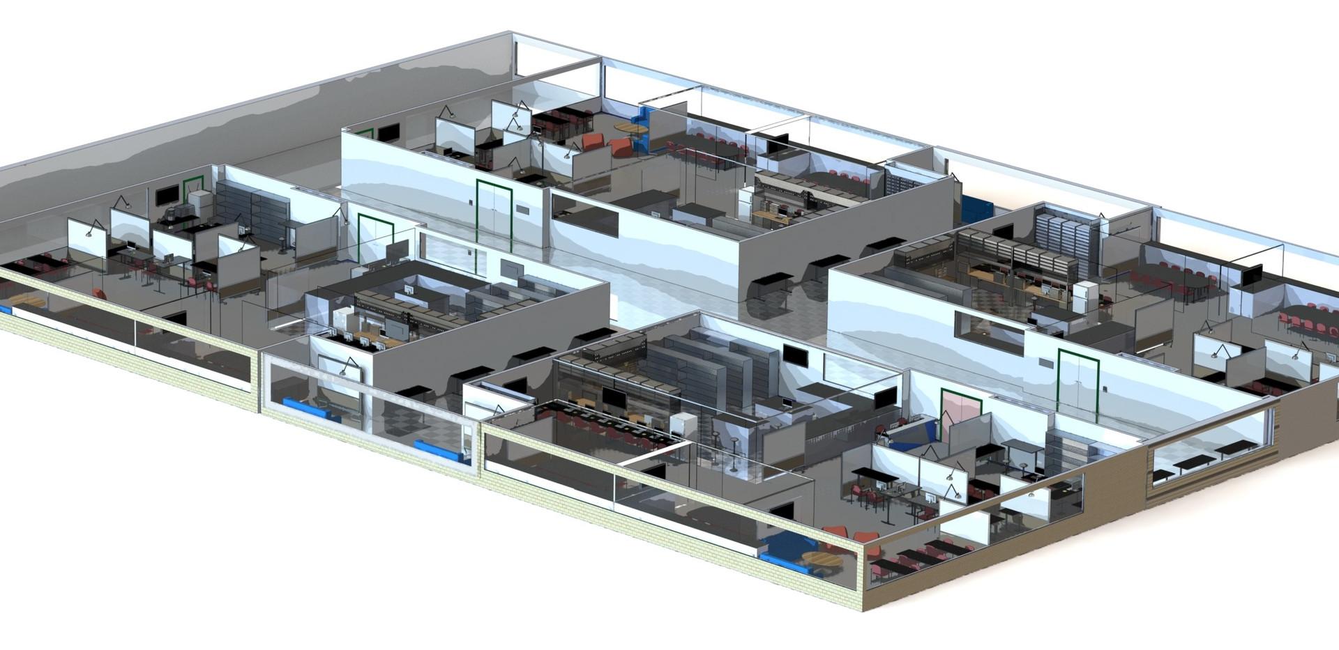 Accelerator Concept Floorplan