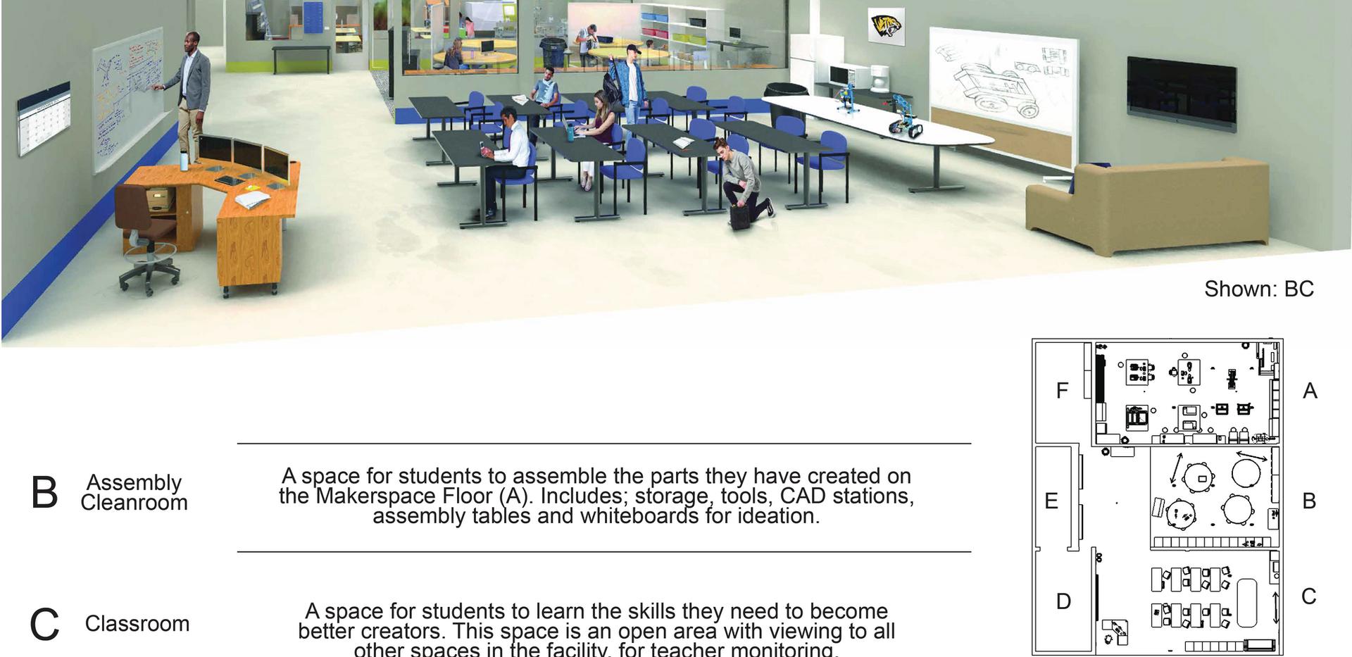 Saguaro High Makerspace: Classroom