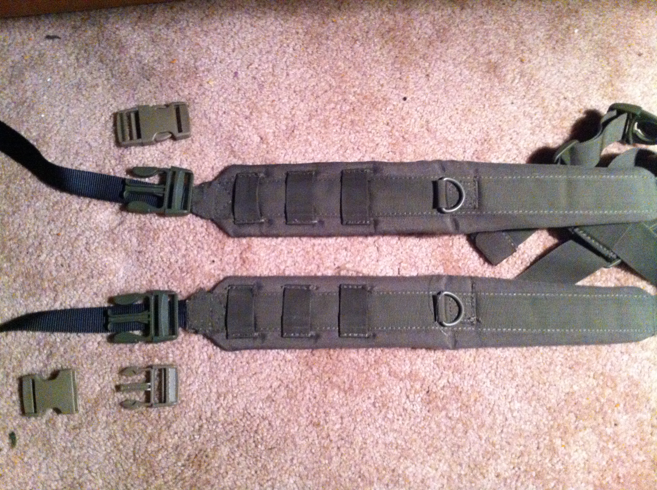 Tactical straps