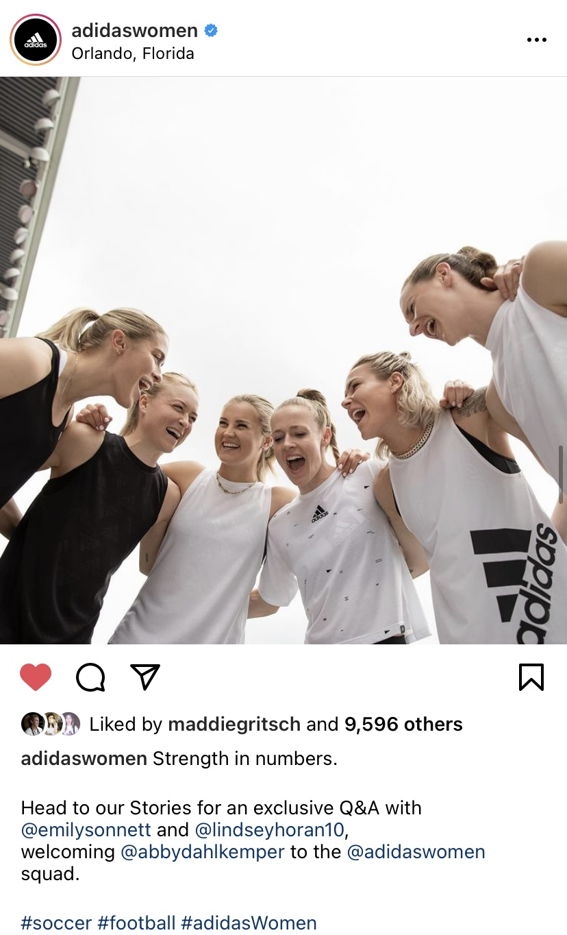 adidas Women Instagram
