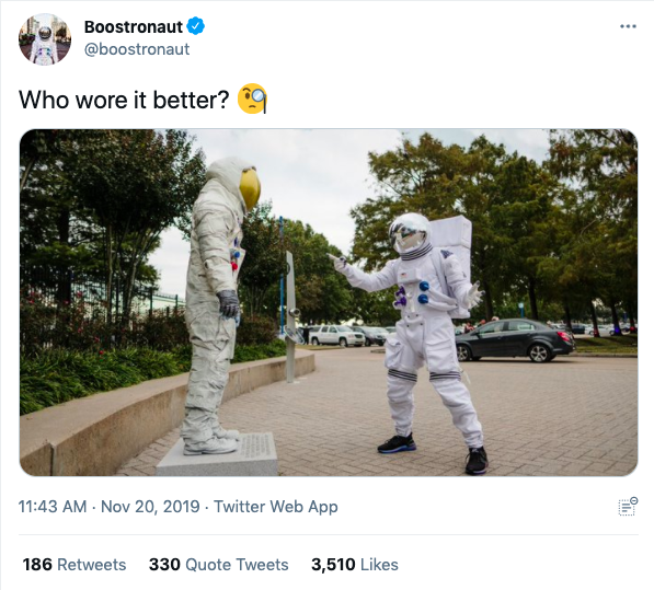 adidas Running Boostronaut Activation