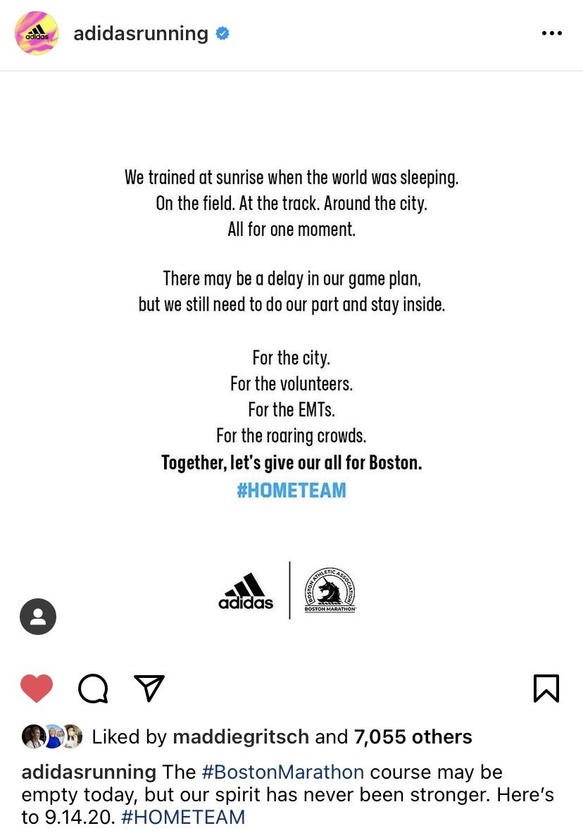 adidas Running Instagram