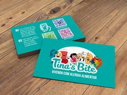 Cartão Tina's Bite