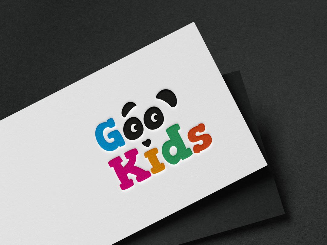Logo para loja de moda infantil