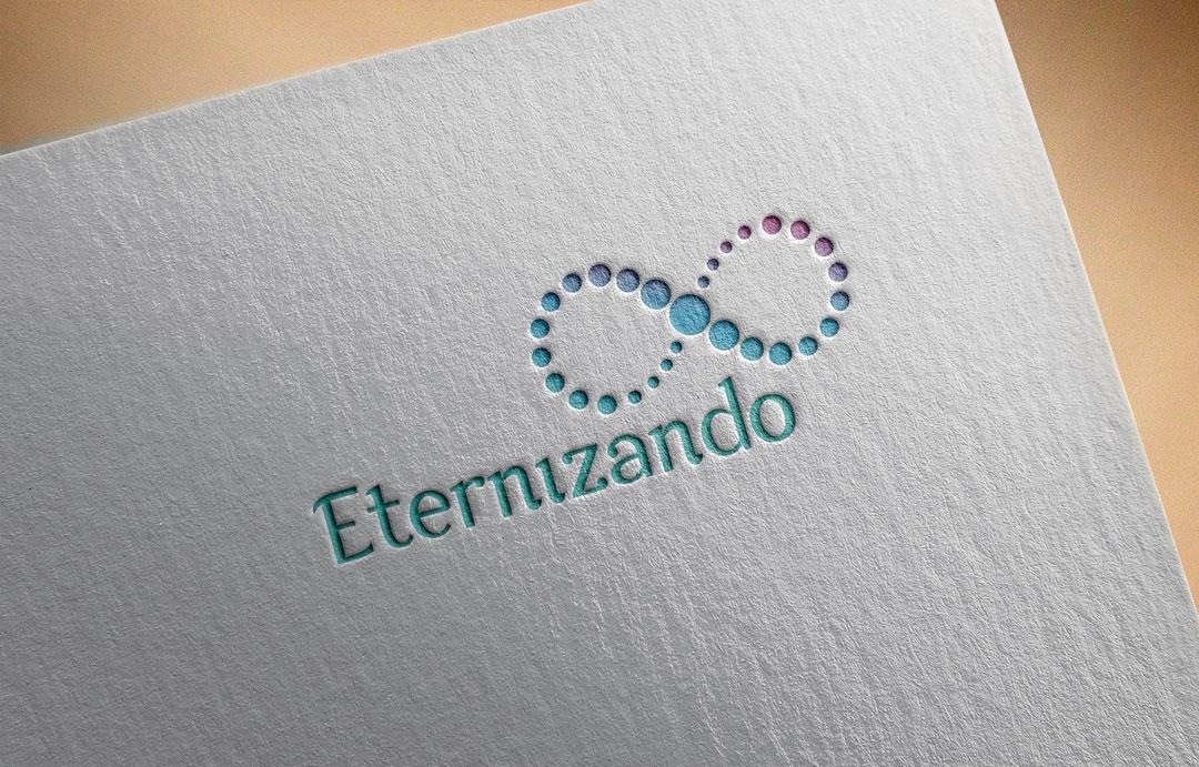 Logotipo com Símbolo do Infinito