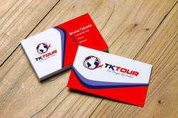 Cartão de Visita para Agência de Turismo