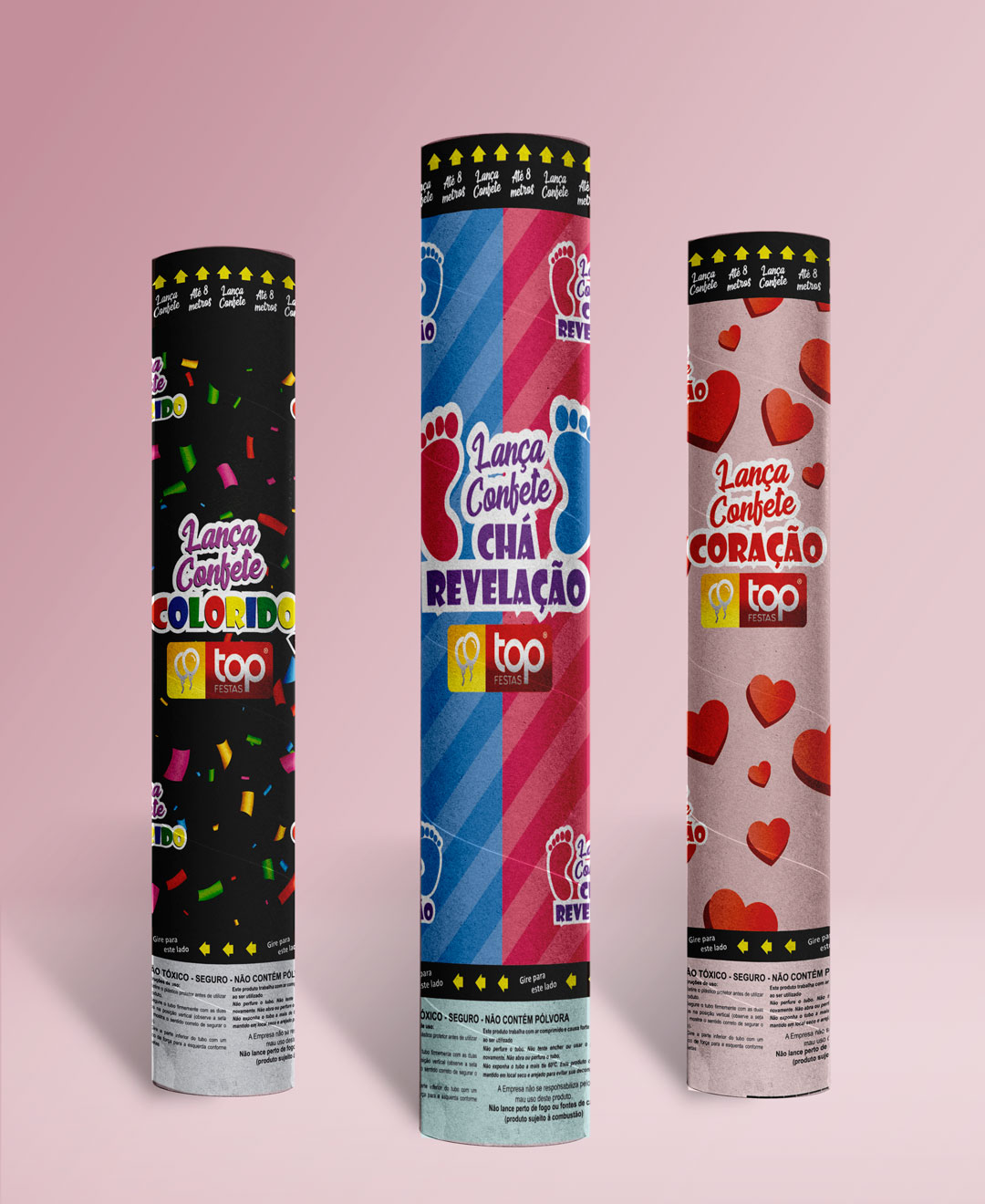 Lança Confetes Top Festas