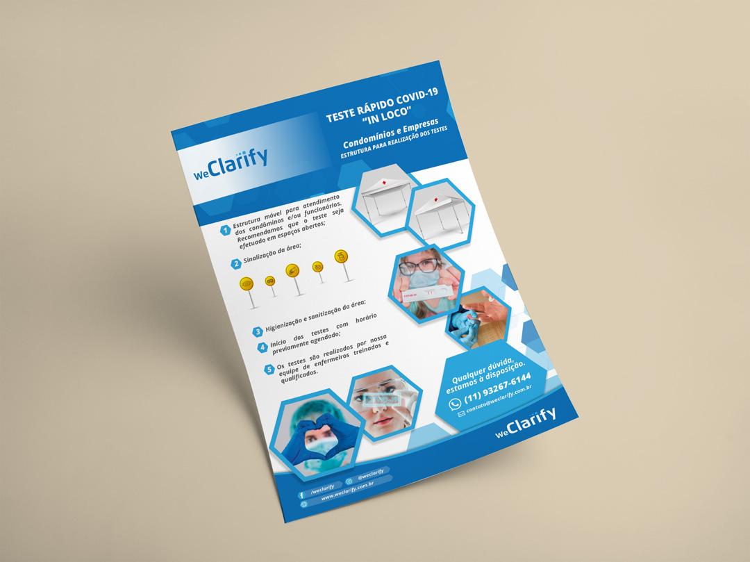 Folder Sanitização Coronavirus