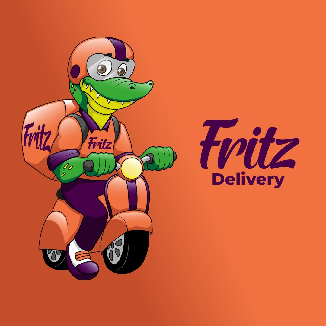 Mascote para Delivery