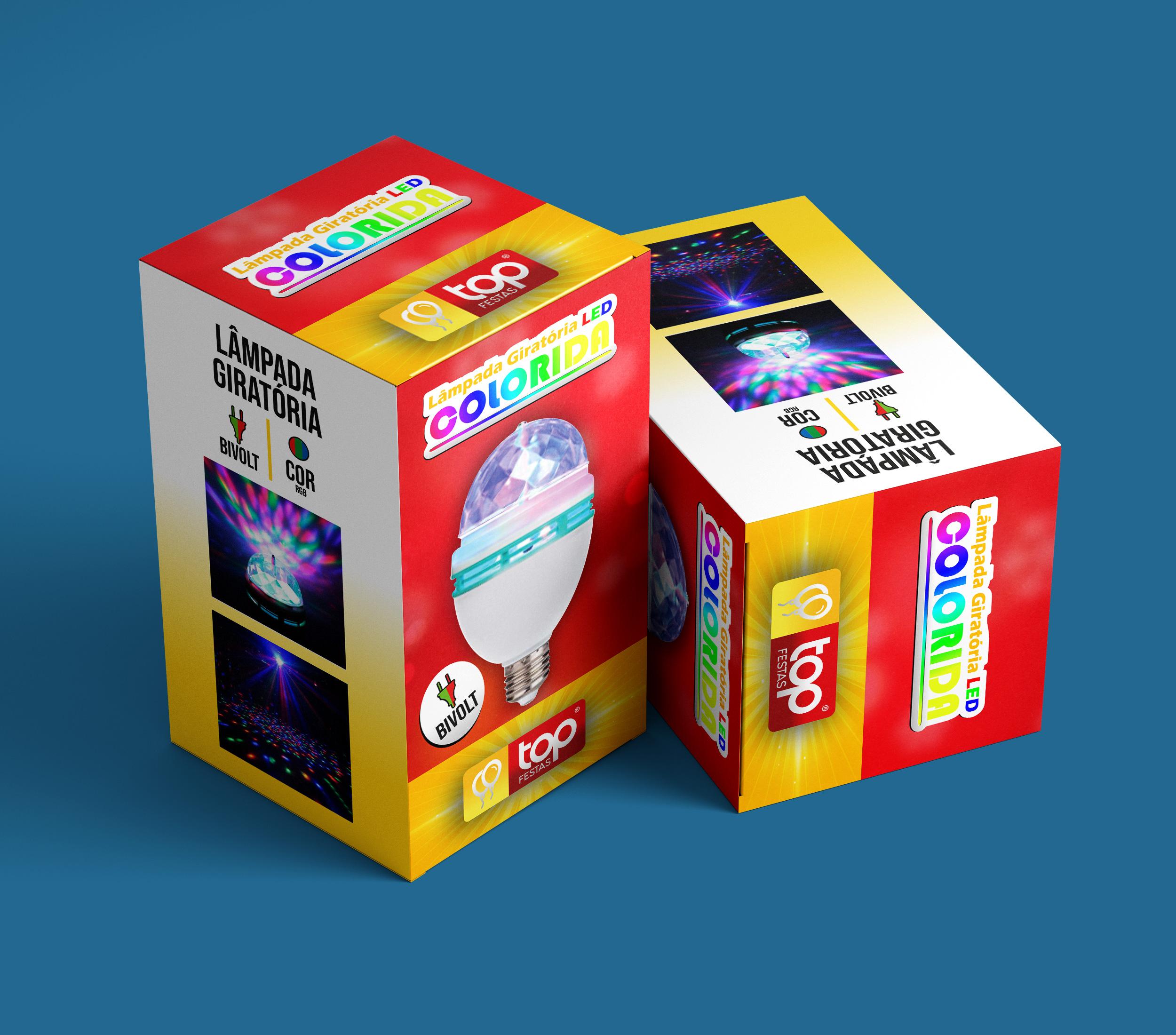 Embalagem para Lâmpada Led