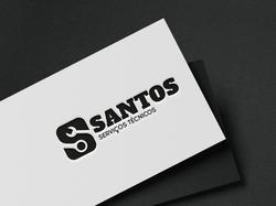 Logo Santos Serviços Técnicos