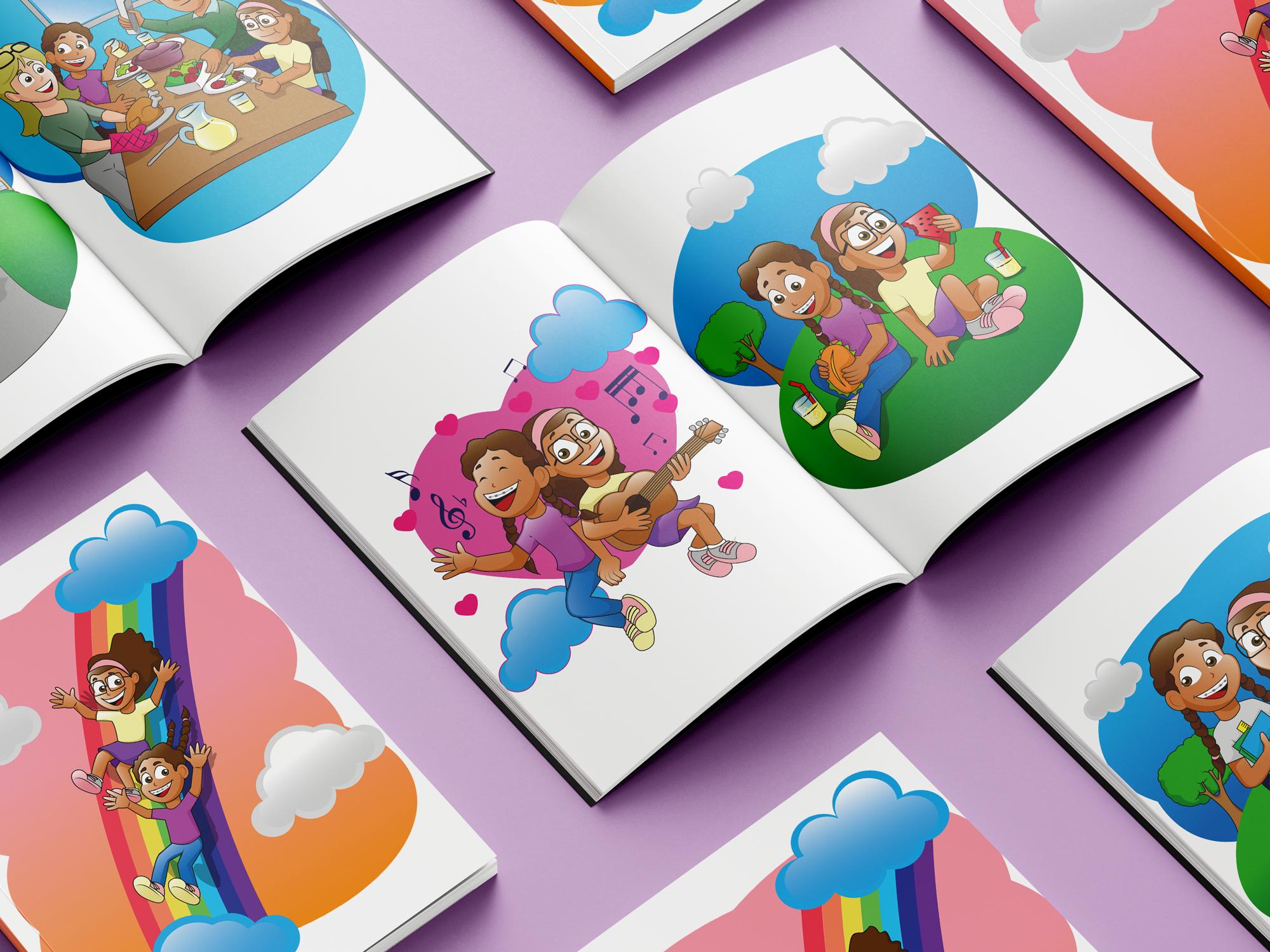 Ilustrações para Livro Infantil