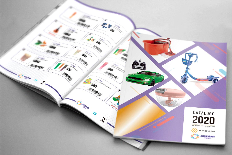 Catálogo de Brinquedos e Utilidades Domésticas