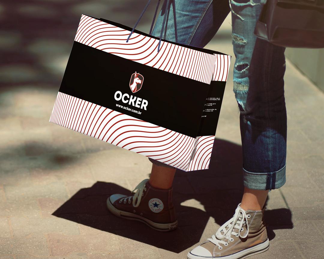 Design de sacola para Moda