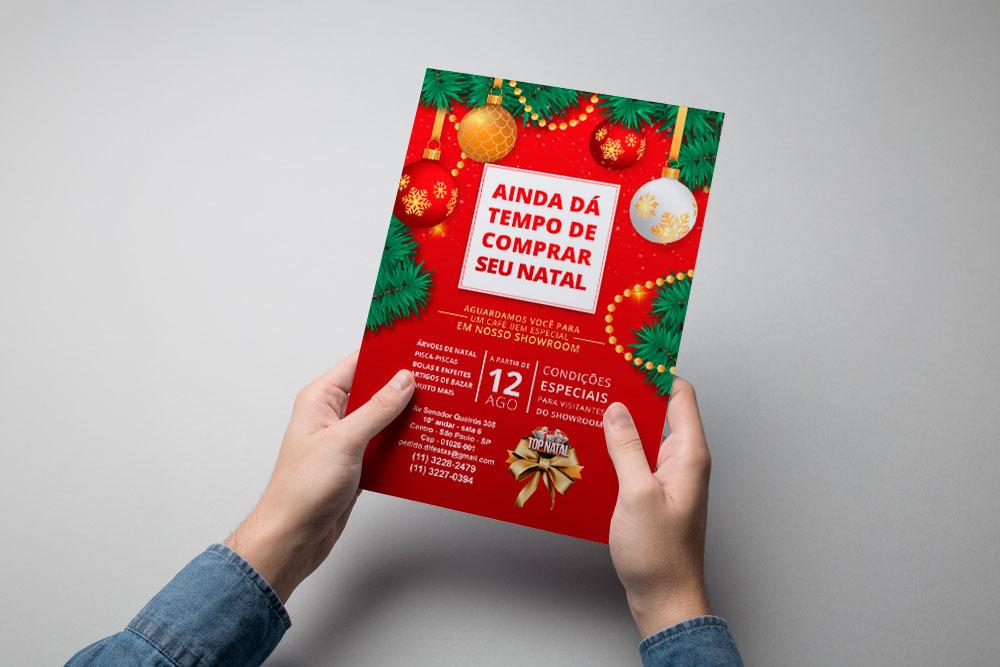Folheto Top Natal