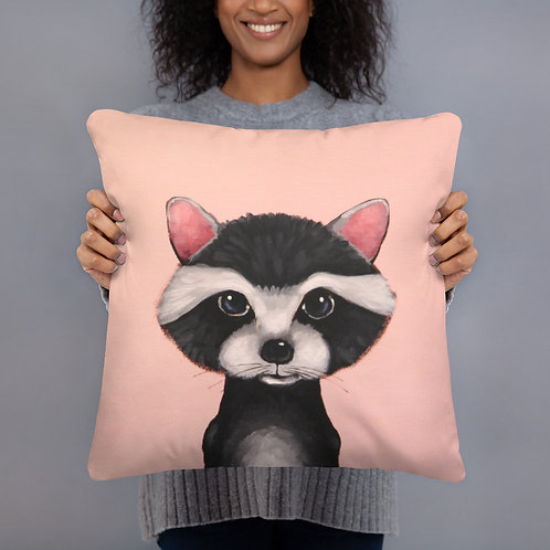Raccoon Pillow