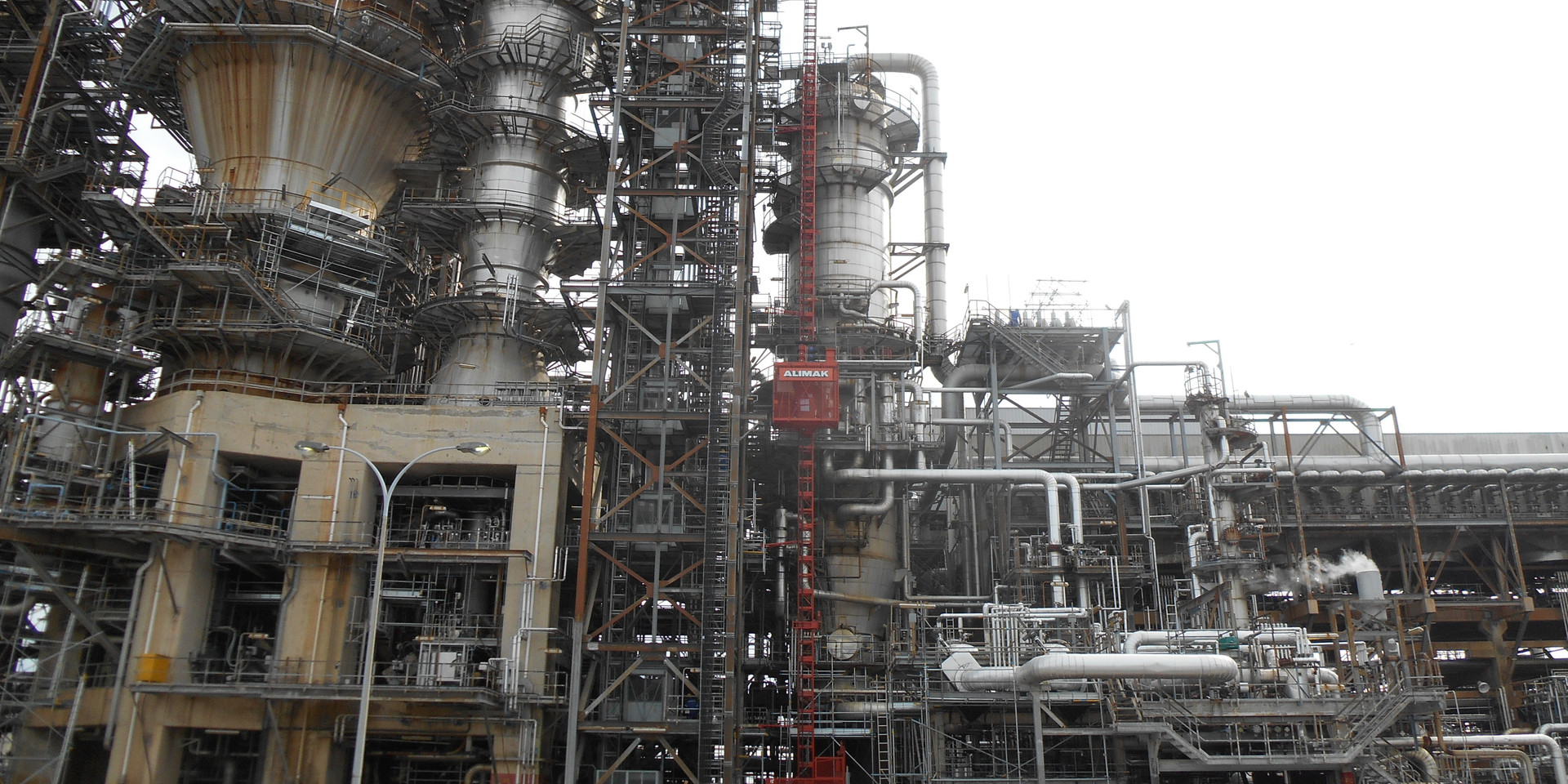 Passenger Hoist @ Oil & Gas Plant Turnaround