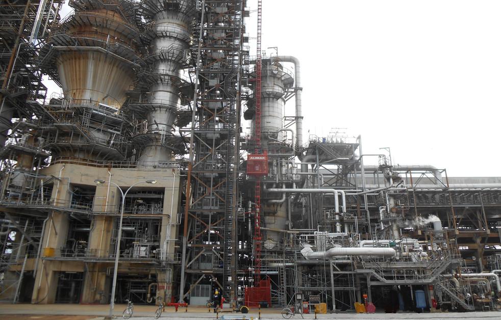 Passenger Hoist @ Oil & Gas Plant Turnaround