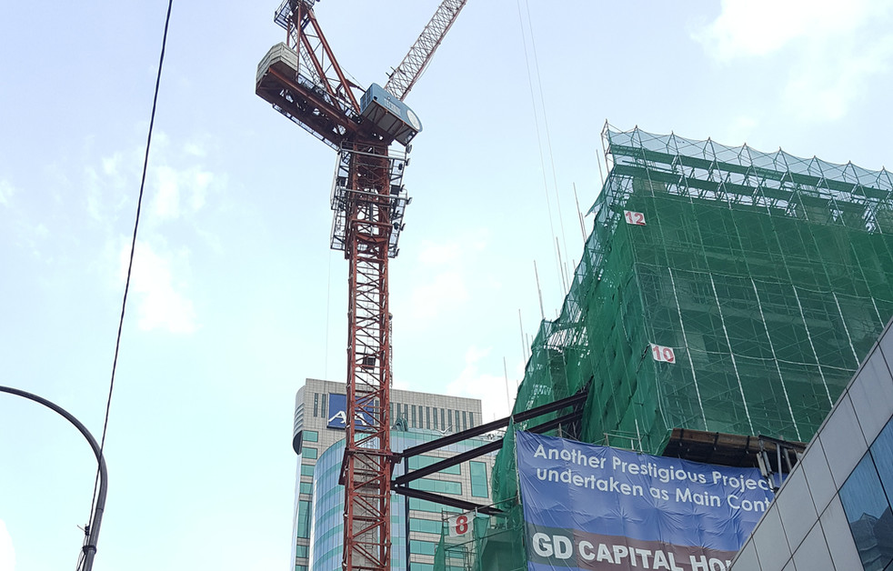 Tower Crane Wall Tie / Bracing