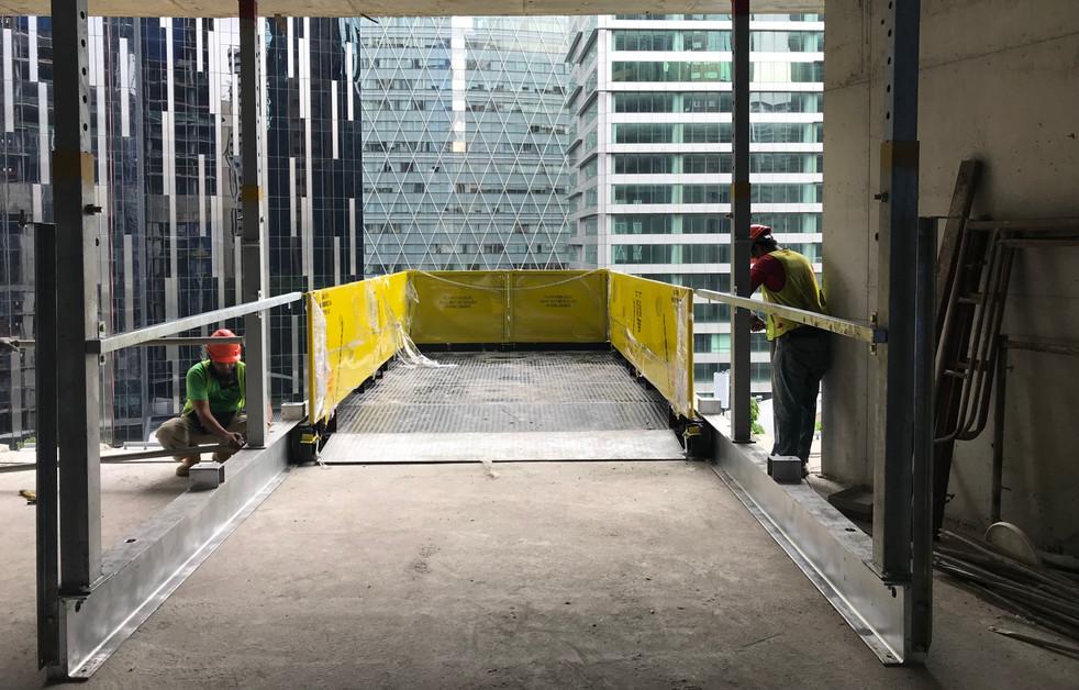 W3.2m Material Loading Platform