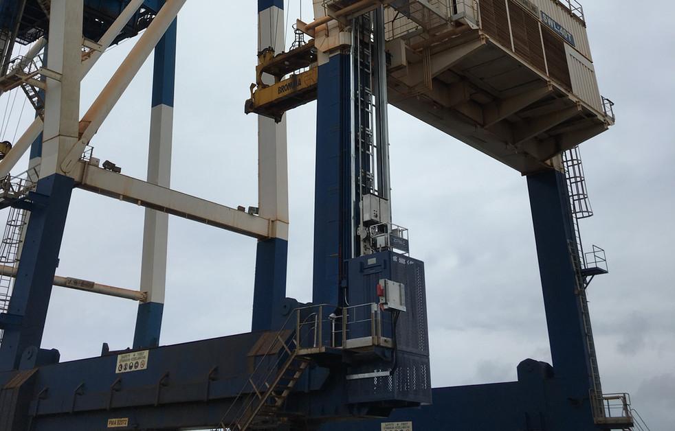 Permanent Lift @ Container Crane