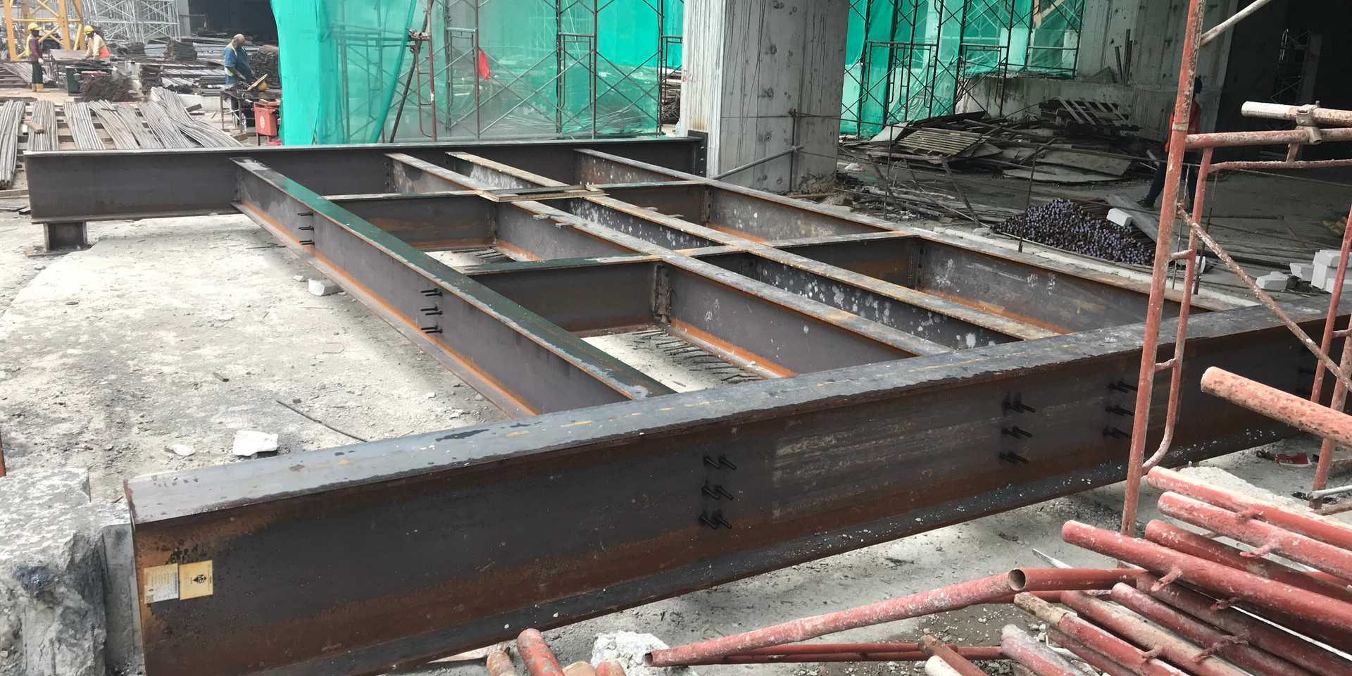 Passenger Hoist Foundation
