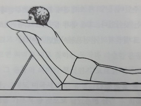 허리디스크 환자의 신전동작의 중요성