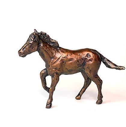 Sculptures Horse art Miniatures Small Sculpture Solid bronze horses Original art