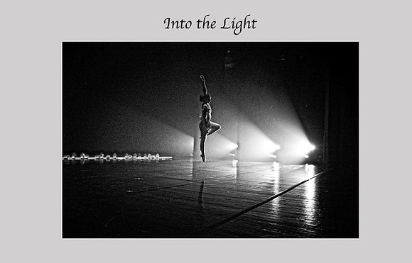 Black and White Photograph, dancer, pirouette, solo dancer on stage, modern dance, contemporary dance