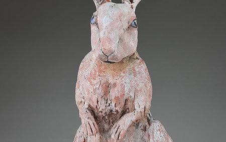 Bert the Terra Cotta Bunny