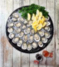 Frshly Shucked Oyster Platter