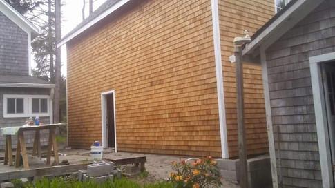 We use #1 Cedar Shingles for our siding.