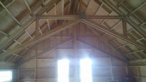 Look at that vaulted ceiling.