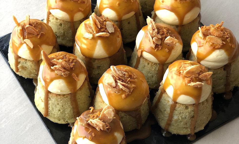 Pandan Gula Melaka Minicakes