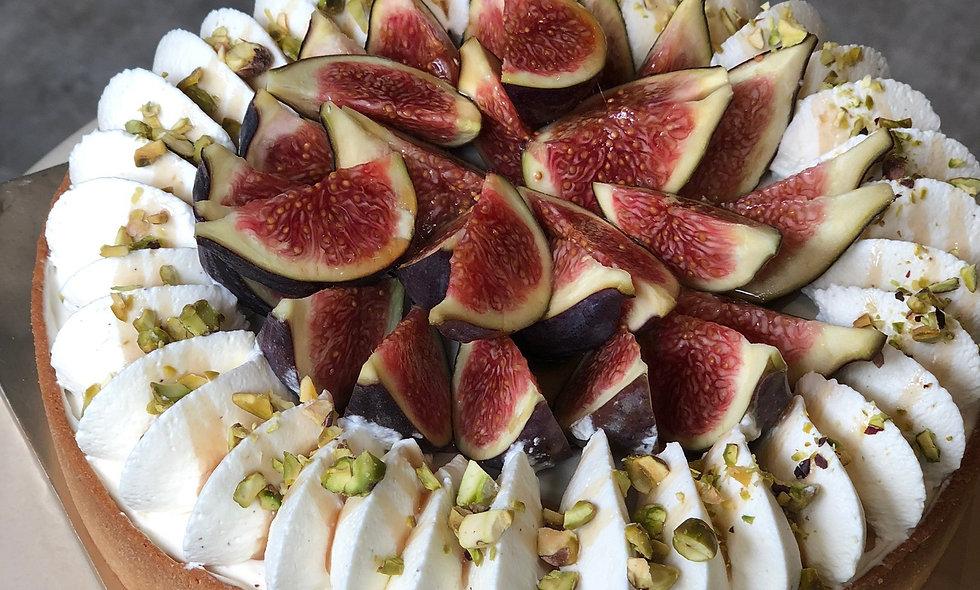 Fig Yogurt Tart