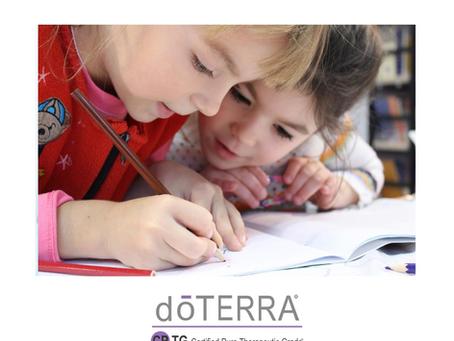 Tanulást segítő esszenciális olajok  gyerekeknek- könnyebb tanulás a természet segítségével!