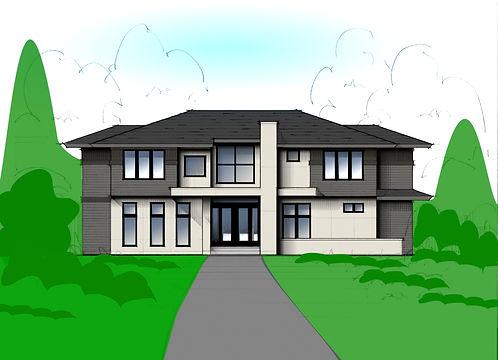 Modern Prairire House; Jeffrey Lane, Edina