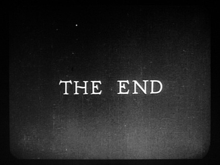 The End (is just the beginning)