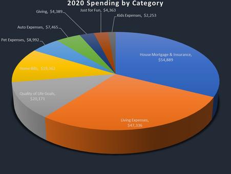 2019 vs 2020 Spending: COVID Impacts