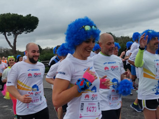 Anche quest'anno in corsa alla Maratona Roma Ostia!