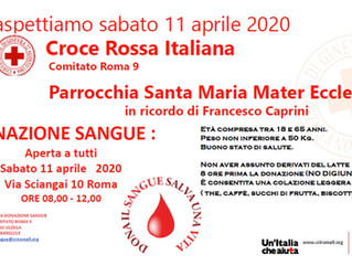Emergenza sangue: donare si può!